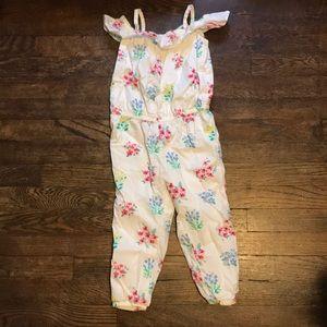 Gymboree toddler girl jumpsuit/romper